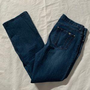 "Jennifer Lopez Size 14 Bootcut Jeans Inseam 31"""
